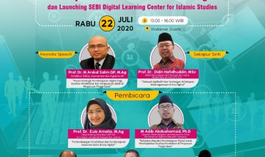 Respon Tantangan Pembelajaran kekinian, STEI SEBI Luncurkan SEBI Digital Learning Center for Islamic Studies